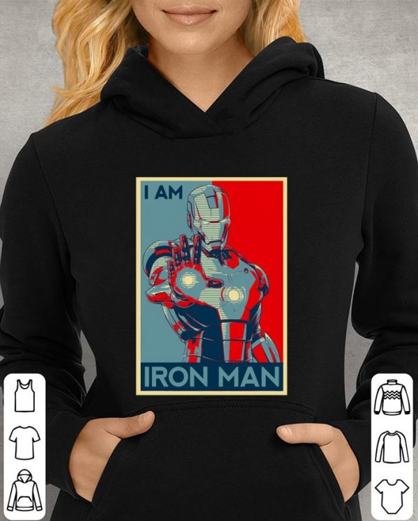 Avenger Endgame I am Iron man Vintage shirt