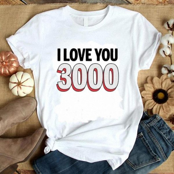 Avengers Endgame I love you 3000 Tony Stark and Daughter shirt