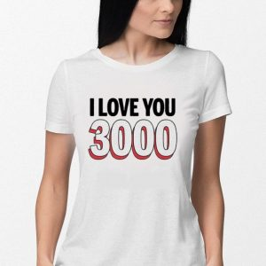 Avengers Endgame I love you 3000 Tony Stark and Daughter shirt 2