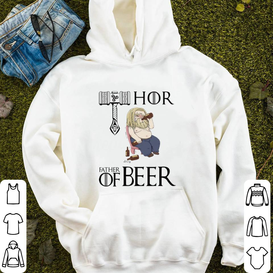 Avengers endgame fat Thor father of beer shirt 4 - Avengers endgame fat Thor father of beer shirt