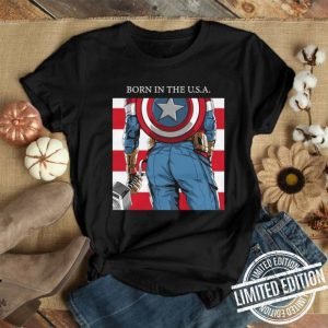 Born In The U.S.A. Captain America's Ass Standard shirt