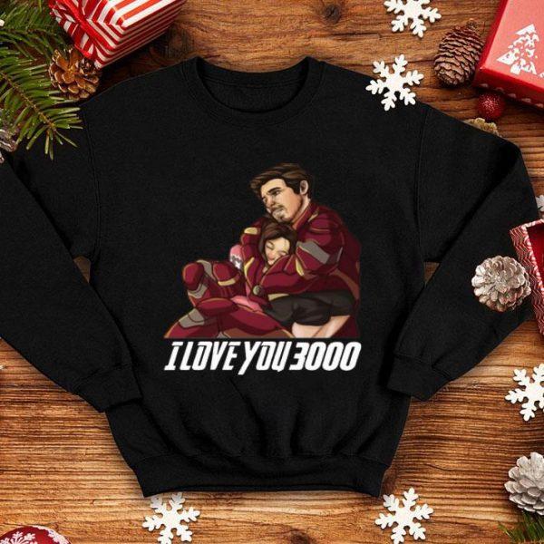 Dad And Daughter Iron Man I Love You 3000 shirt