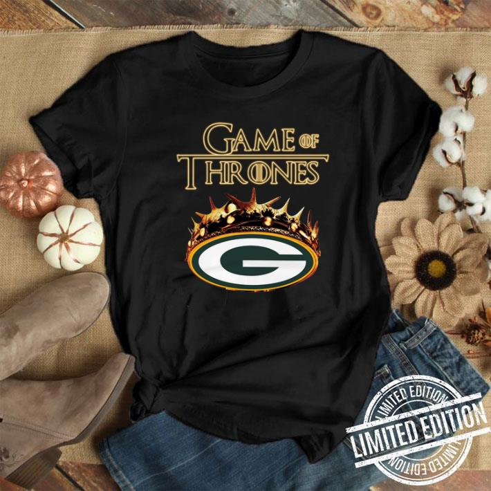official photos 97b15 e571c Game of Thrones Crown Green Bay Packers shirt
