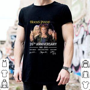 Hocus Pocus 26th anniversary 1993-2019 signatures shirt