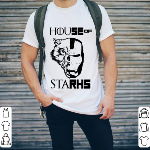 House Stark Game of Thrones Iron Man Marvel shirt