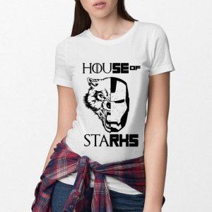 House Stark Game of Thrones Iron Man Marvel shirt 2