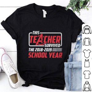 Marvel Avengers This teacher survived the 2018-2019 school year shirt