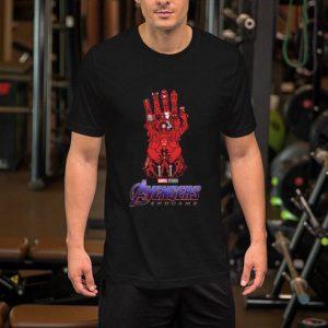 Marvel Studios Avengers Endgame Red Infinity Gauntlet shirt
