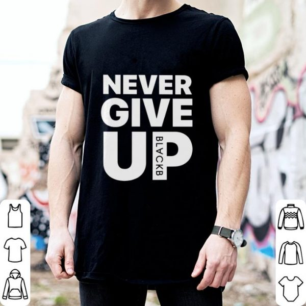 Mohamed Salah Never give up shirt
