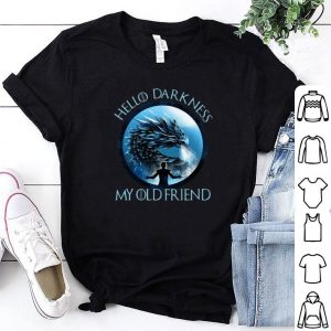 Night King hello darkness my old friend Game Of Thrones shirt