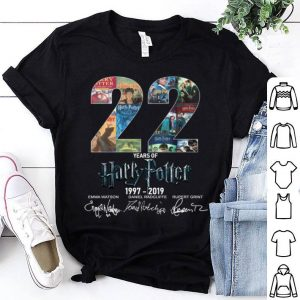 22 years of harry potter 1997 - 2019 shirt