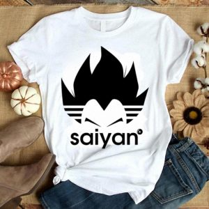 Adidas Super Saiyan Vegeta shirt