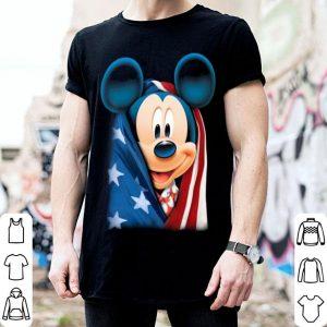 American flag Mickey mouse shirt