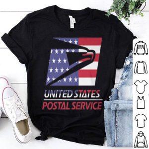 American flag United States Postal Service shirt