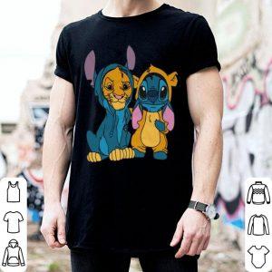 Baby Simba and Stitch shirt