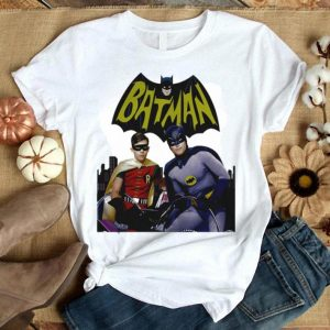 Bat man and robin shirt