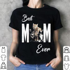 Best mom ever cats shirt