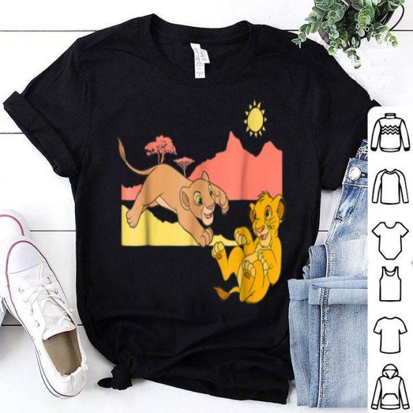 Disney The Lion King Young Simba Nala Playing shirt