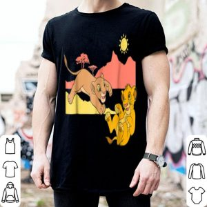 Disney The Lion King Young Simba Nala Playing shirt