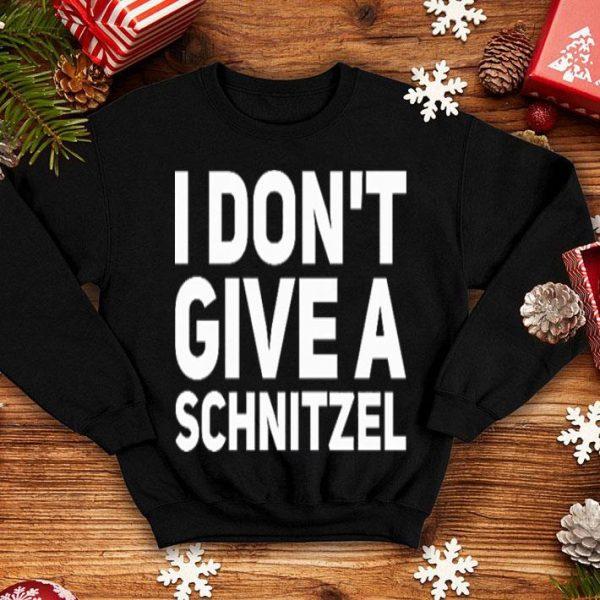 I don't give a schnitzel shirt
