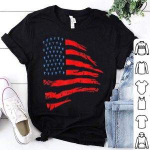 July 4th Independence Patriotic American Flag shirt