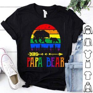 LGBT papa bear shirt