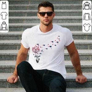 New England Patriots dandelion flower shirt