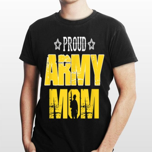 Proud Army Mom Patriotic USA For Mother shirt