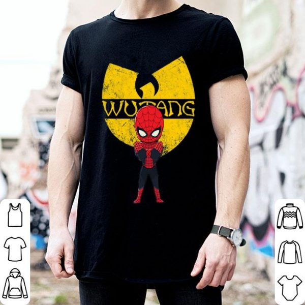Spiderman Wu Tang Clan shirt