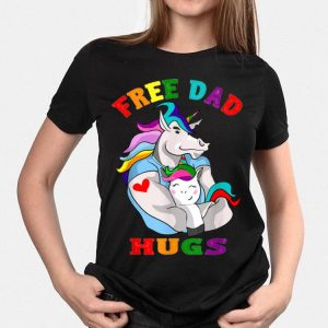 Unicorn Free Dad Hugs Lgbt Gay Pride shirt