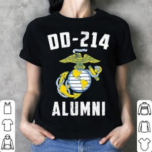United States Marine Corps DD-214 Alumni shirt