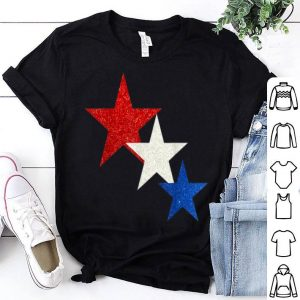 Usa Flag Stars For Memorial Day July 4th Patriotic shirt