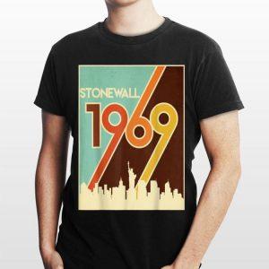Vintage Stonewall 1969 50Th Anniversary LGBTQ Gay Pride Tee shirt