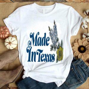 made in texas flower shirt