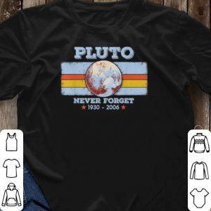 1930-2006 Planet Pluto never forget shirt 2