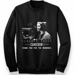 1999-2019 Rip Cameron Boyce signature thank you for the memories shirt 2