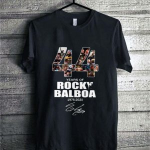 44 years of Rocky Balboa 1976-2020 signature shirt sweater