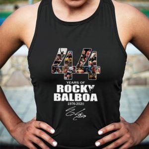 44 years of Rocky Balboa 1976-2020 signature shirt sweater 2