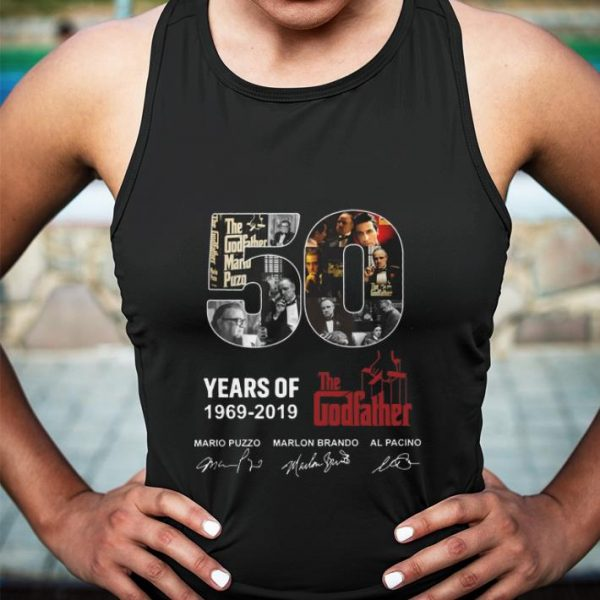 50 years of The Godfather 1969-2019 signatures shirt sweater