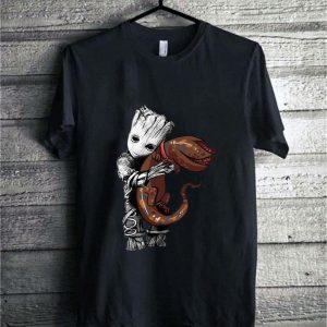 Baby Groot hug Dart Stranger Things demogorgon shirt