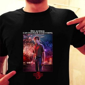 Charlie Heaton One Summer Can Change Everything Stranger Things 3 shirt