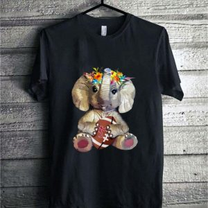 Flower Elephant Alabama Crimson Tide shirt