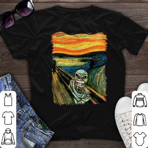 Iron Maiden Eddie meets Van Gogh shirt sweater