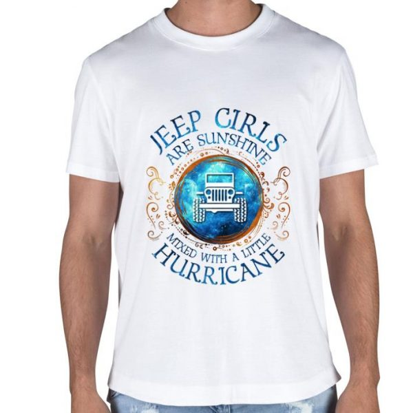 Jeep girls are sunshine mixed with a little hurricane shirt sweater