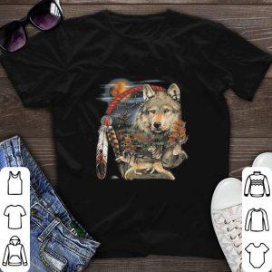 Moon Animal Spirit Native American Indian Dream Catcher Wolf Shirt Hoodie Sweater Longsleeve T Shirt