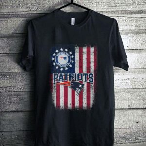 New England Patriots Betsy Ross flag American flag shirt