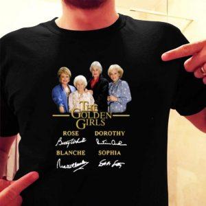 The Golden Girls signatures shirt