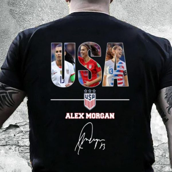 USA Alex Morgan signature shirt