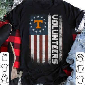 Volunteers Betsy Ross flag Tennessee shirt