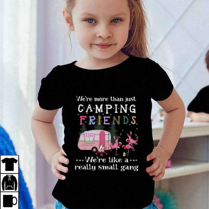 We re more than just camping friends Flamingos shirt sweater 4 - We're more than just camping friends Flamingos shirt sweater